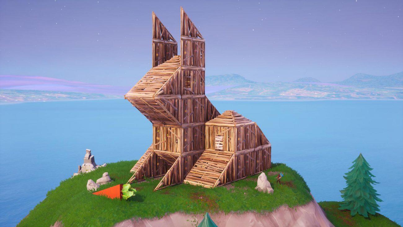 Fox Building Fortnite Visit The Wooden Rabbit Stone Pig And Metal Llama In Fortnite Guide Stash