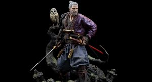 CD Projekt Red Geralt Ronin Figure