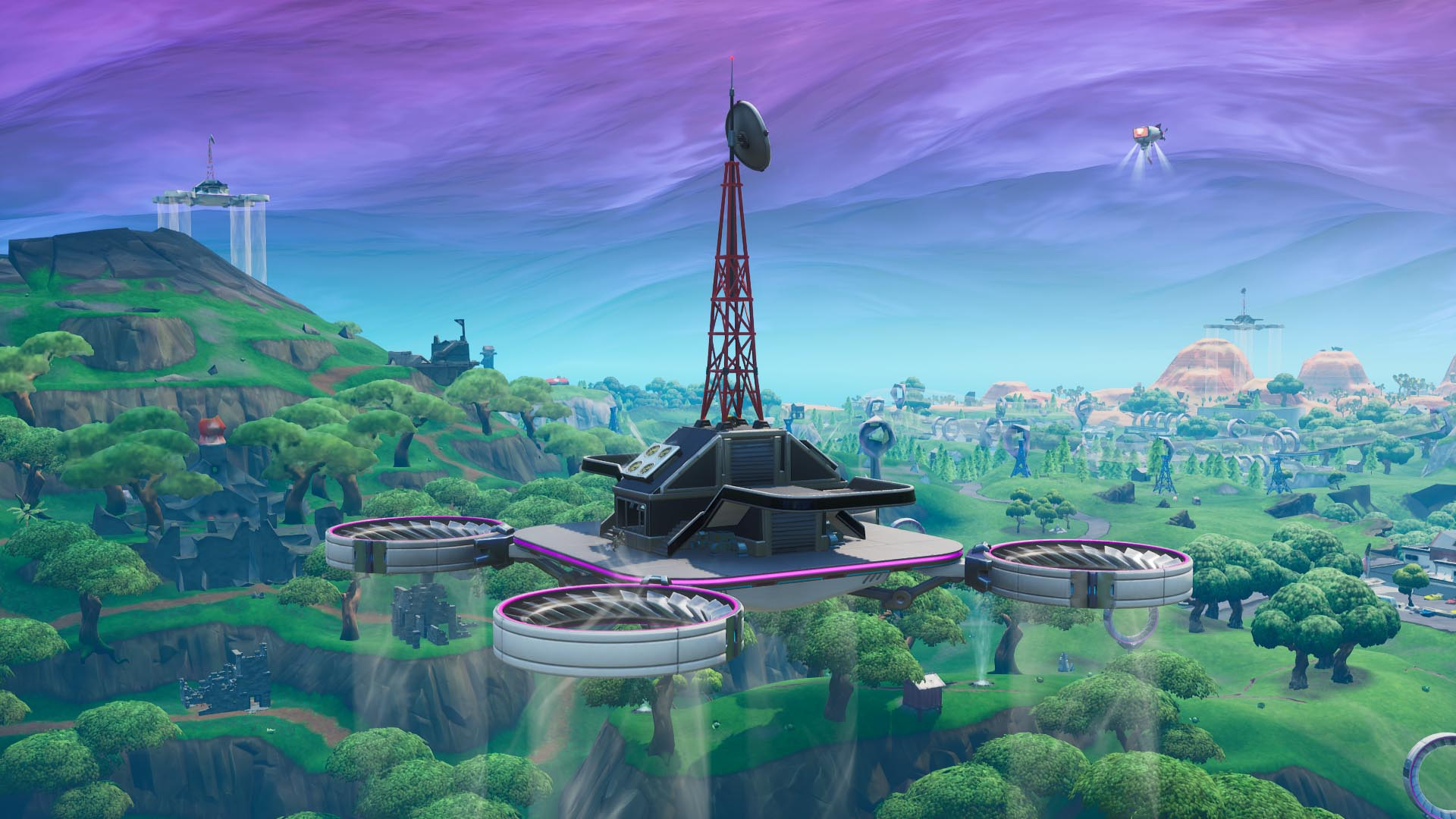 Where To Visit All Sky Platforms In Fortnite Guide Stash