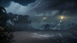 lightning Sea of Thieves
