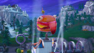Fortnite Holographic Durrr Burger Head Dance Challenge