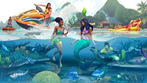 The Sims 4: Island Living reveal trailer