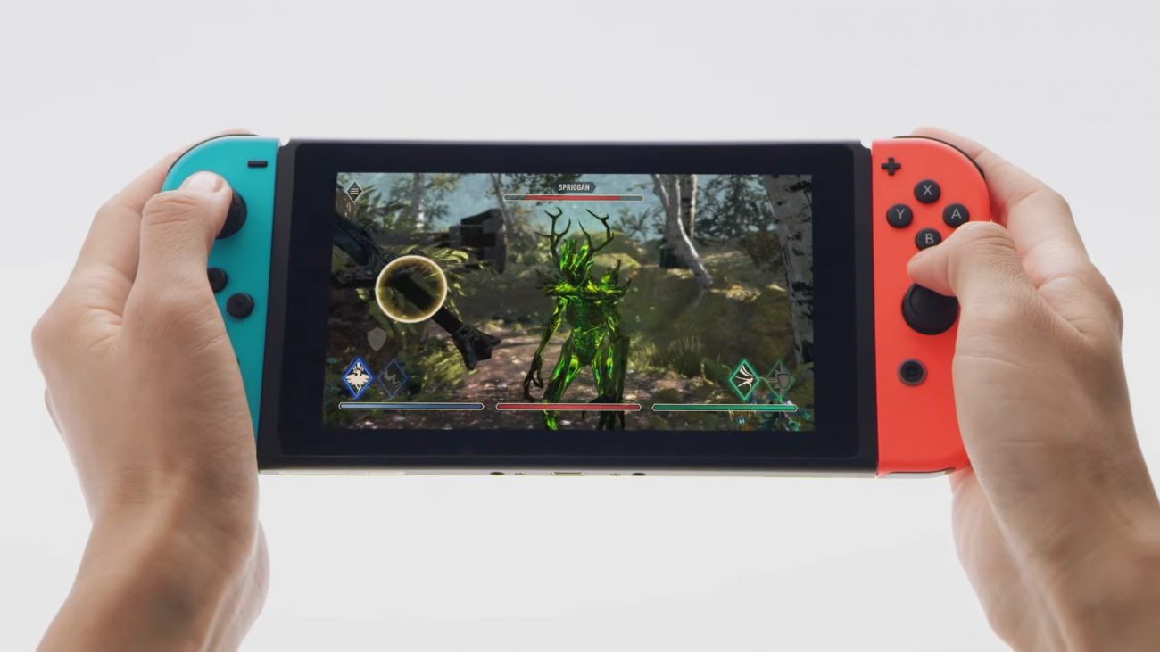Elder Scrolls Blades on Nintendo Switch