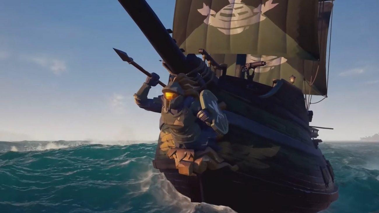 Sea of Thieves Spartan Ship Master Chief