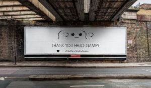 Hello Games Thank You Billboard
