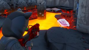 Fortbyte 12 Molten Tunnel Location in Fortnite