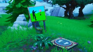 Easy Firing Range Target Locations Fortnite