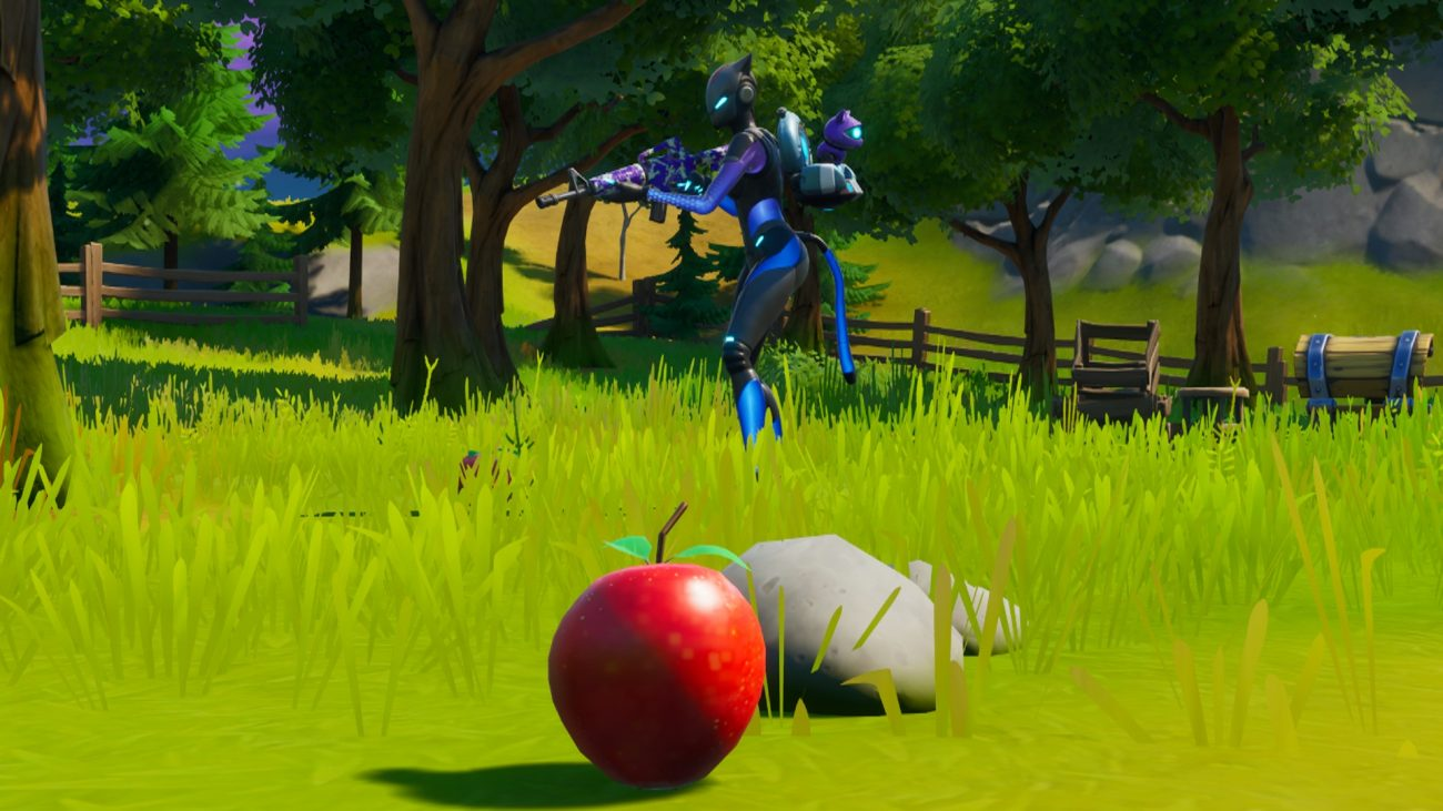 Consume Foraged Items in Fortnite