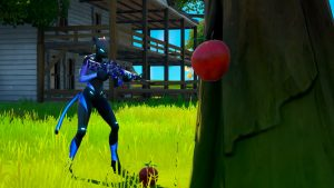 Consume Apples at The Orchard in Fortnite