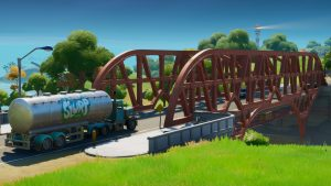 Fortnite Spray Green Yellow Blue Red Purple Steel Bridges
