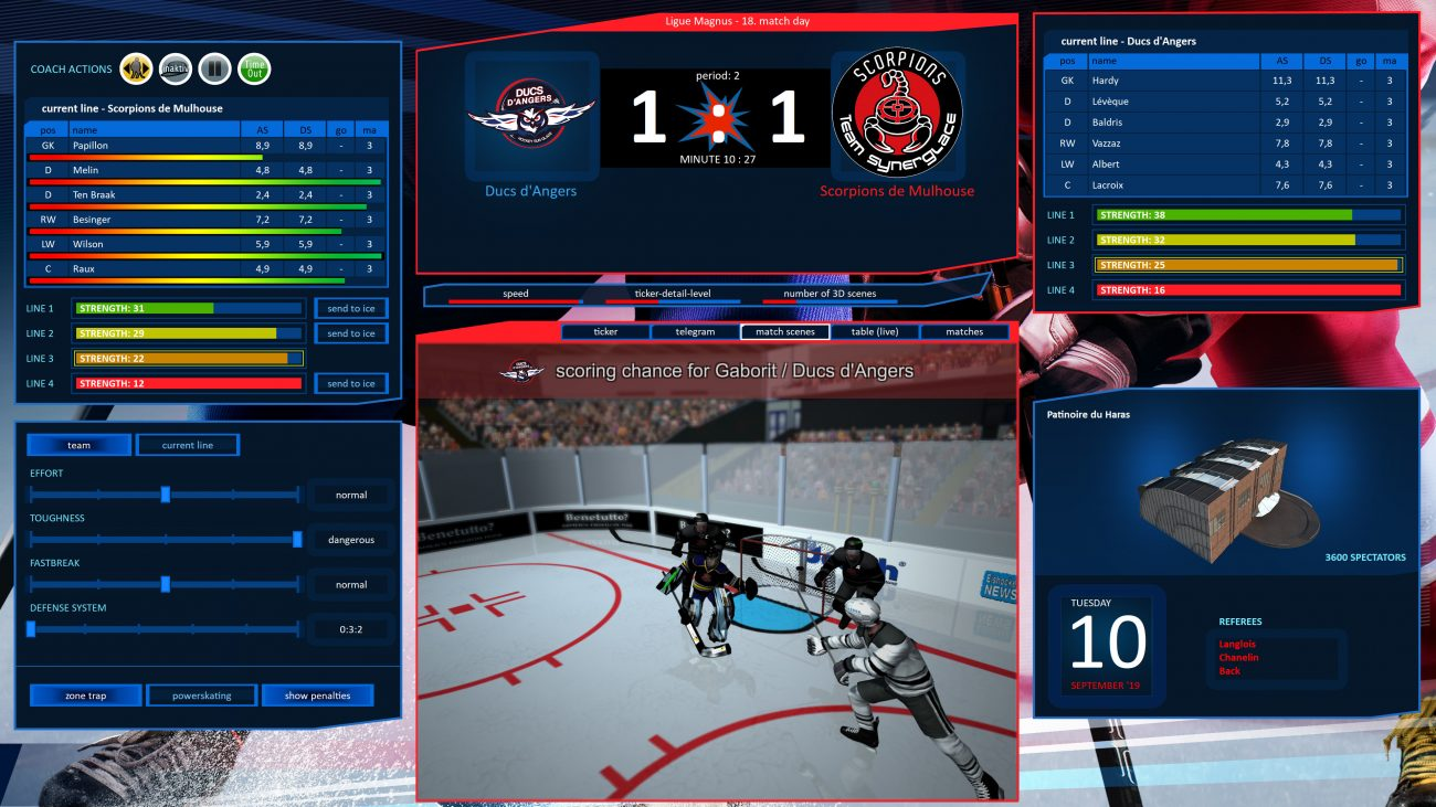 Hockey Manager 20 20 launch