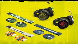 Cyberpunk 2077 SteelSeries Wireless Headsets