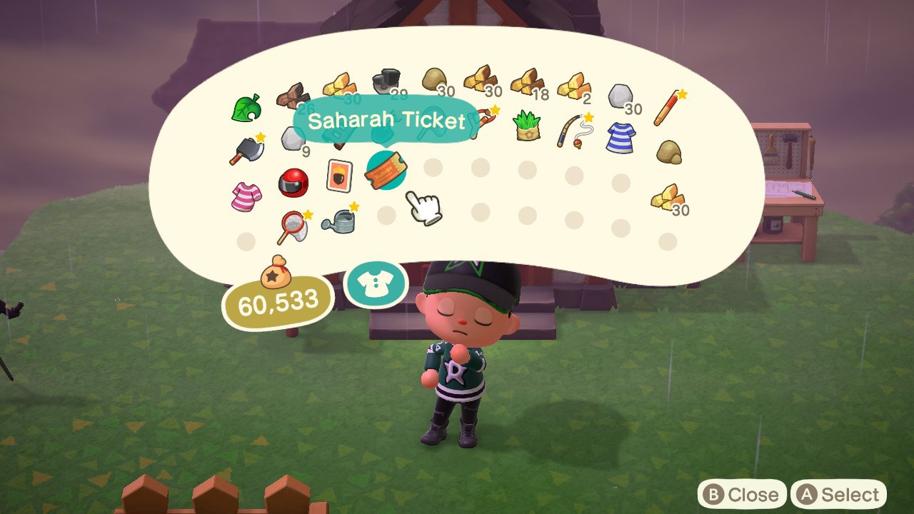 Sahara Ticket Animal Crossing New Horizons Guide Stash See what sahara (saharacarae) has discovered on pinterest, the world's biggest collection of ideas. sahara ticket animal crossing new