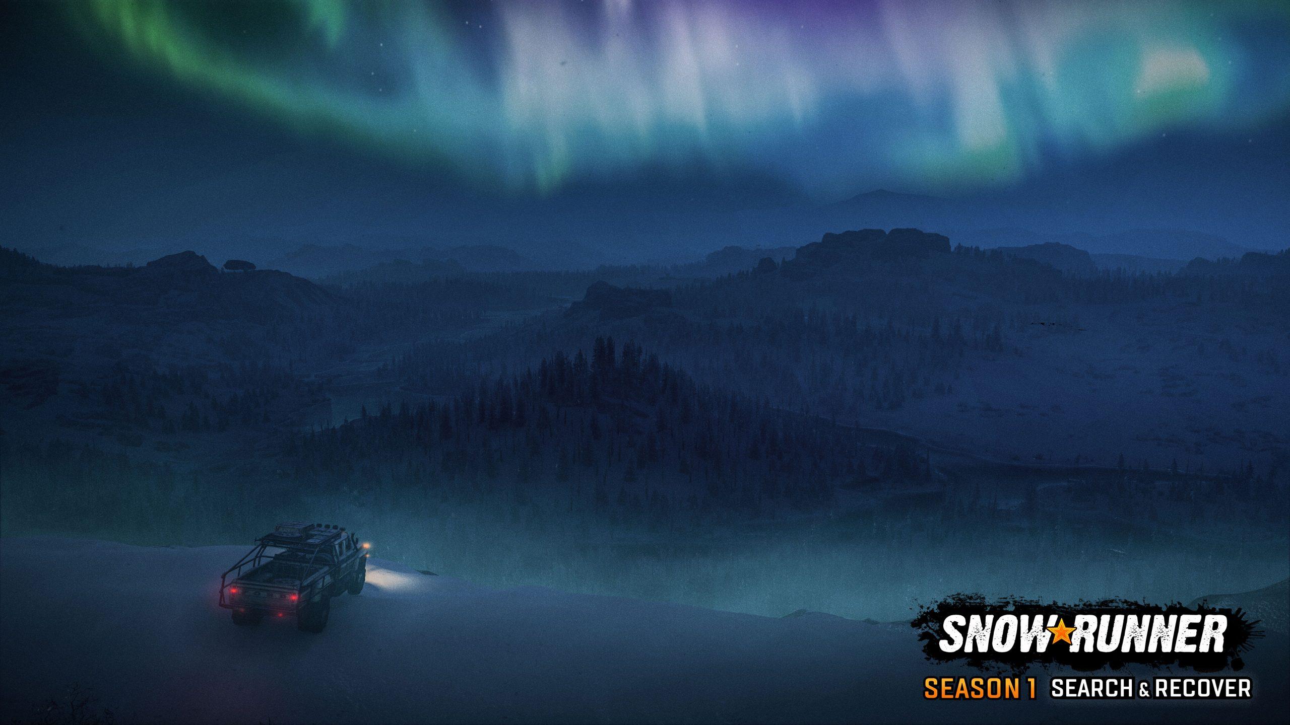 SnowRunner Season1 screenshot logo 02 scaled - SnowRunner Gets Its First Big DLC Next Week