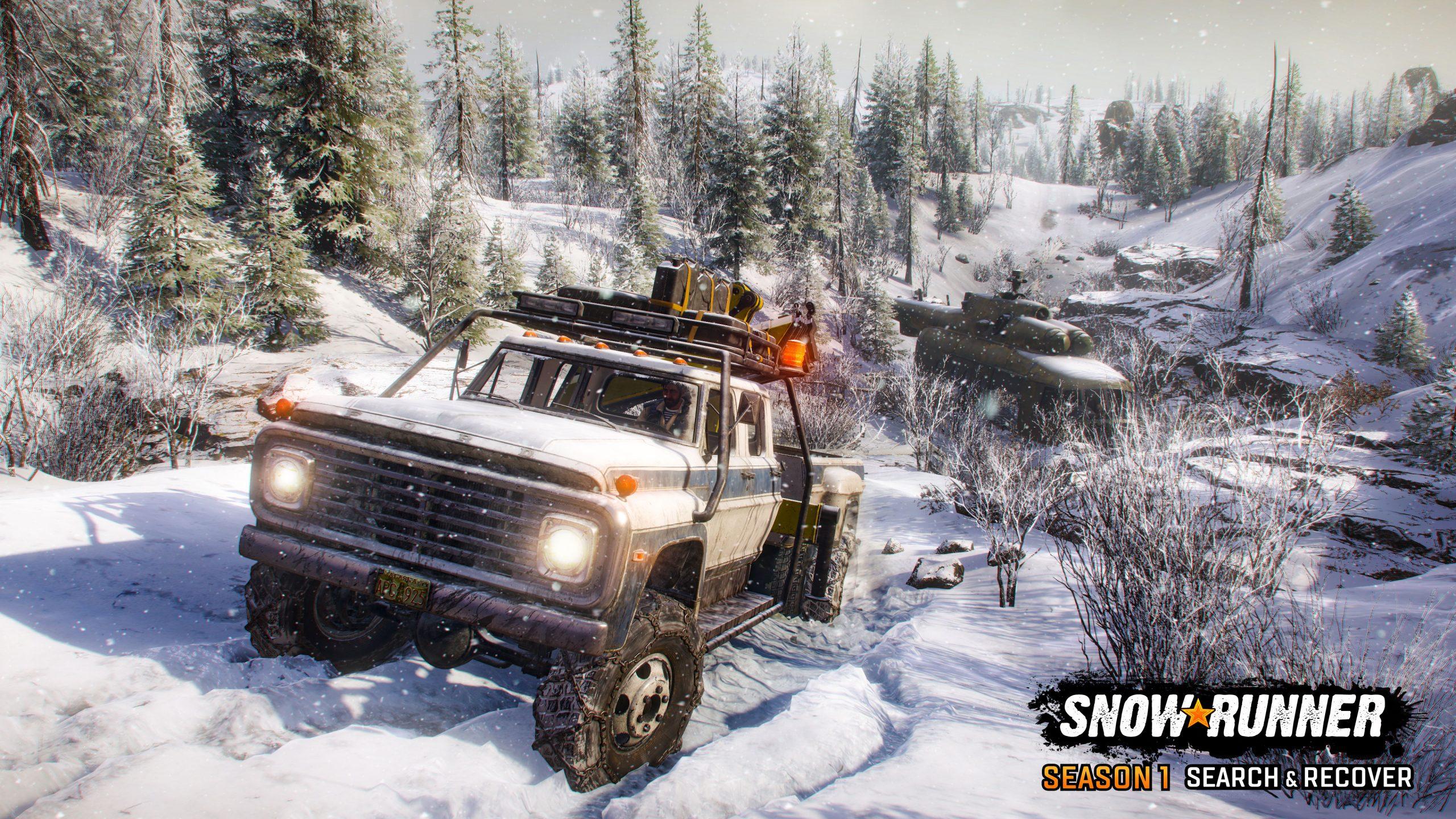 SnowRunner Season1 screenshot logo 03 scaled - SnowRunner Gets Its First Big DLC Next Week