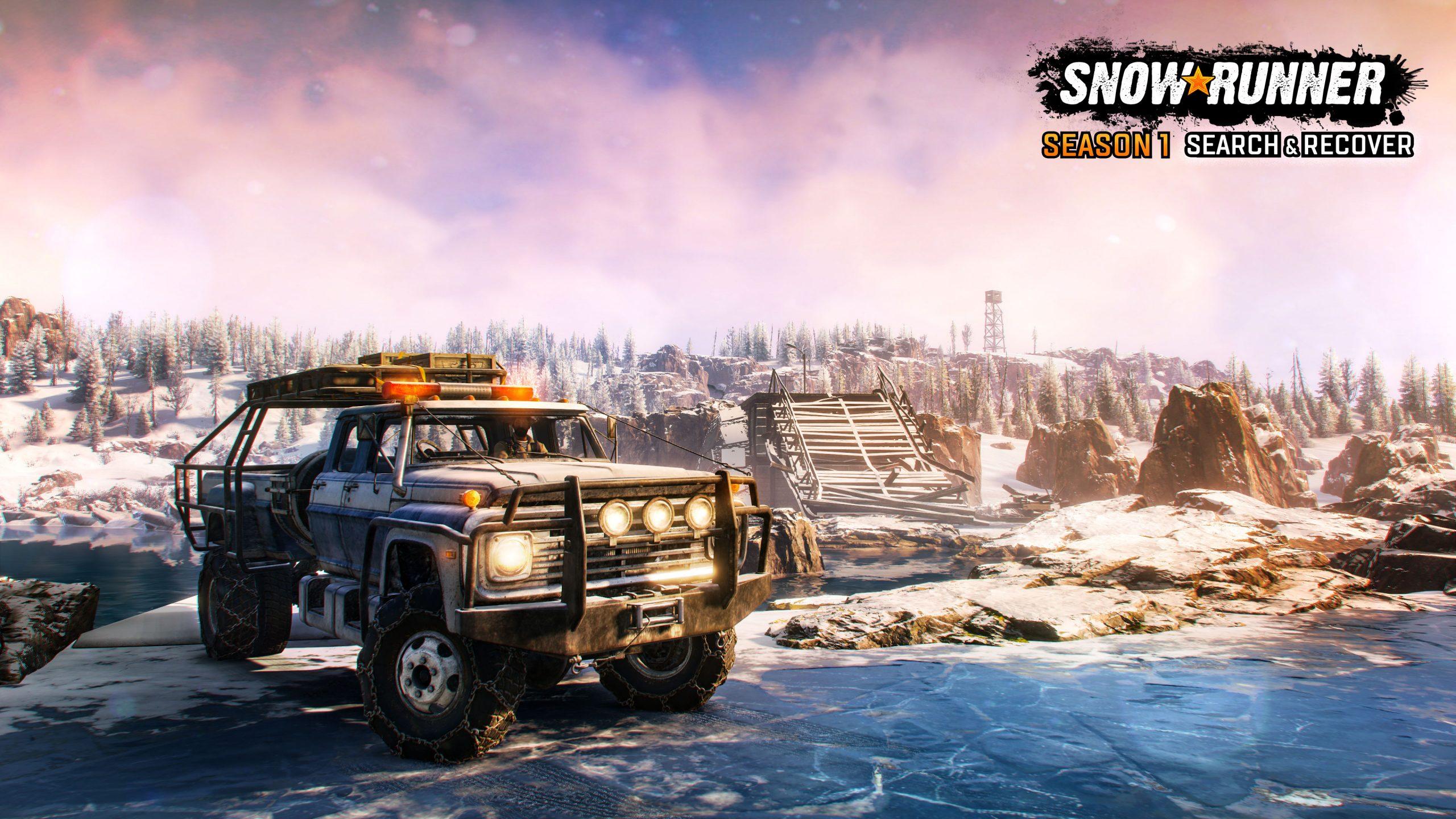 SnowRunner Season1 screenshot logo 05 scaled - SnowRunner Gets Its First Big DLC Next Week