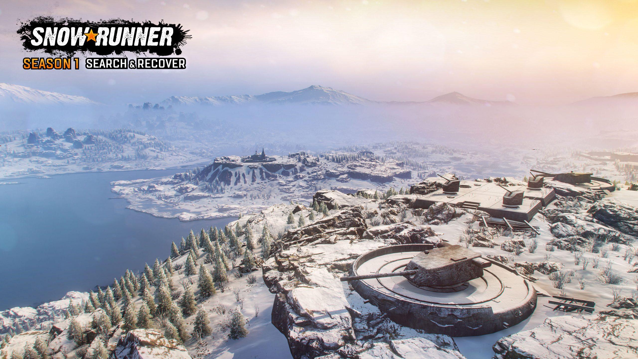SnowRunner Season1 screenshot logo 06 scaled - SnowRunner Gets Its First Big DLC Next Week