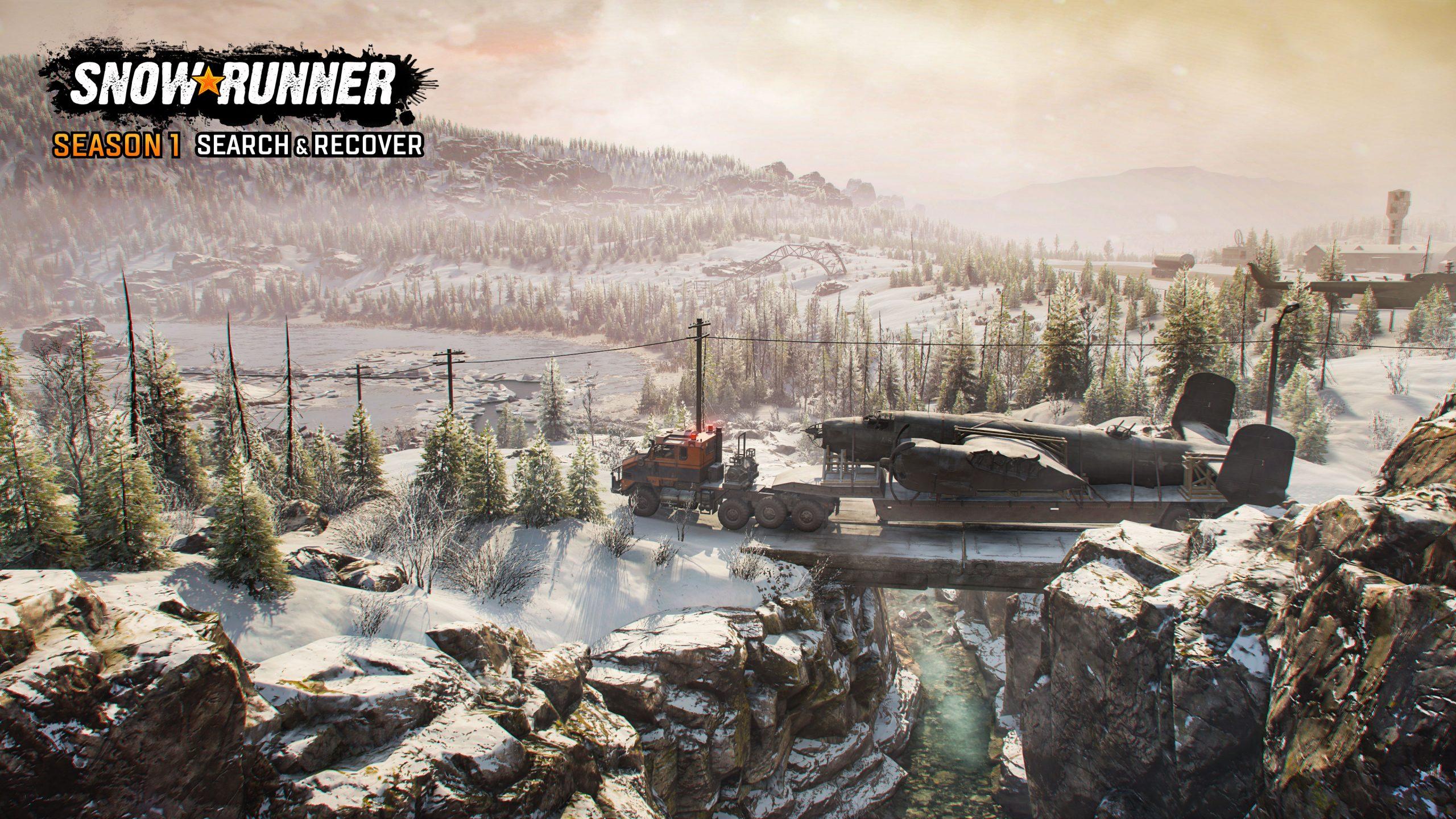 SnowRunner Season1 screenshot logo 07 scaled - SnowRunner Gets Its First Big DLC Next Week