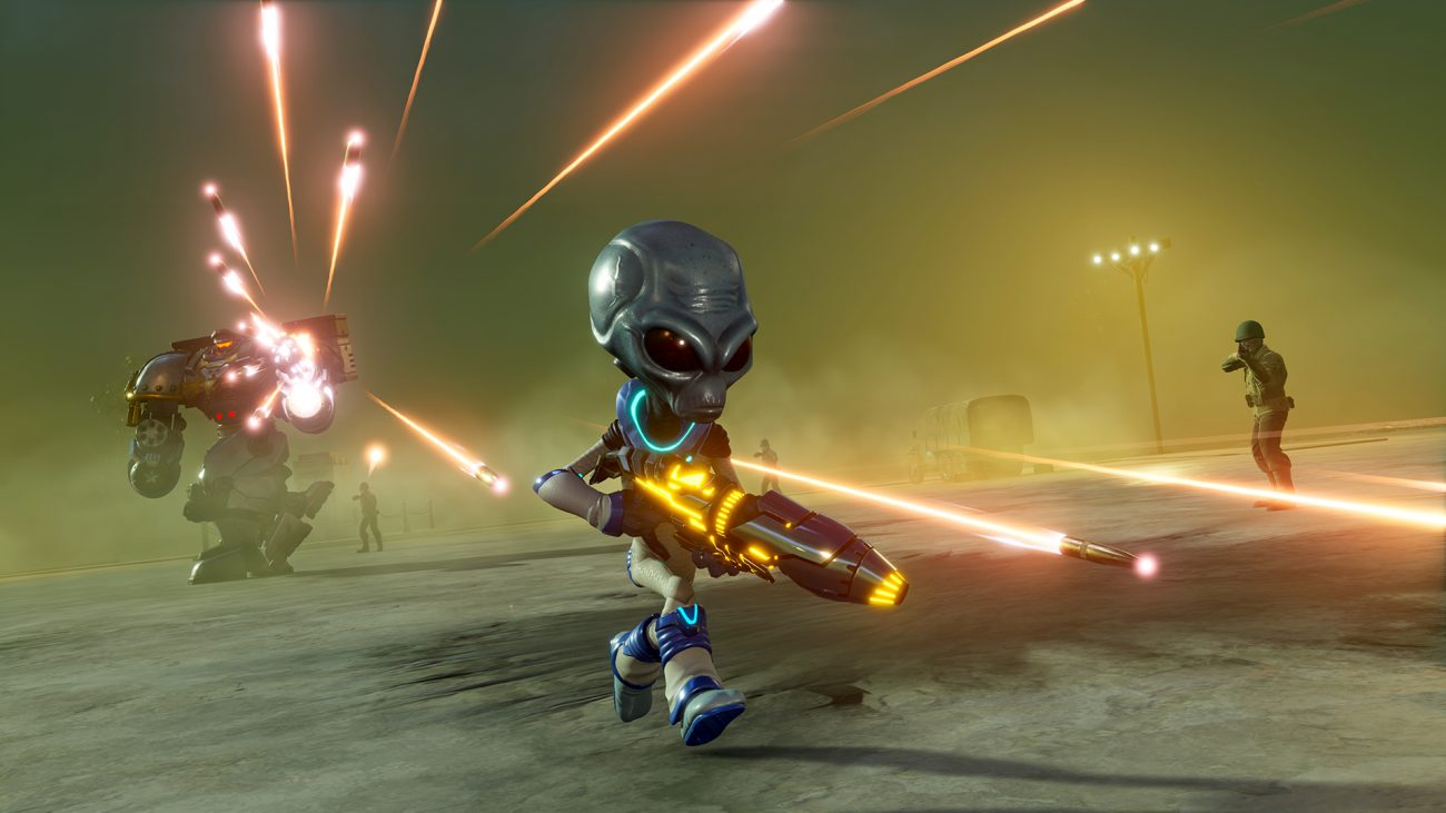 Destroy All Humans Lost Mission