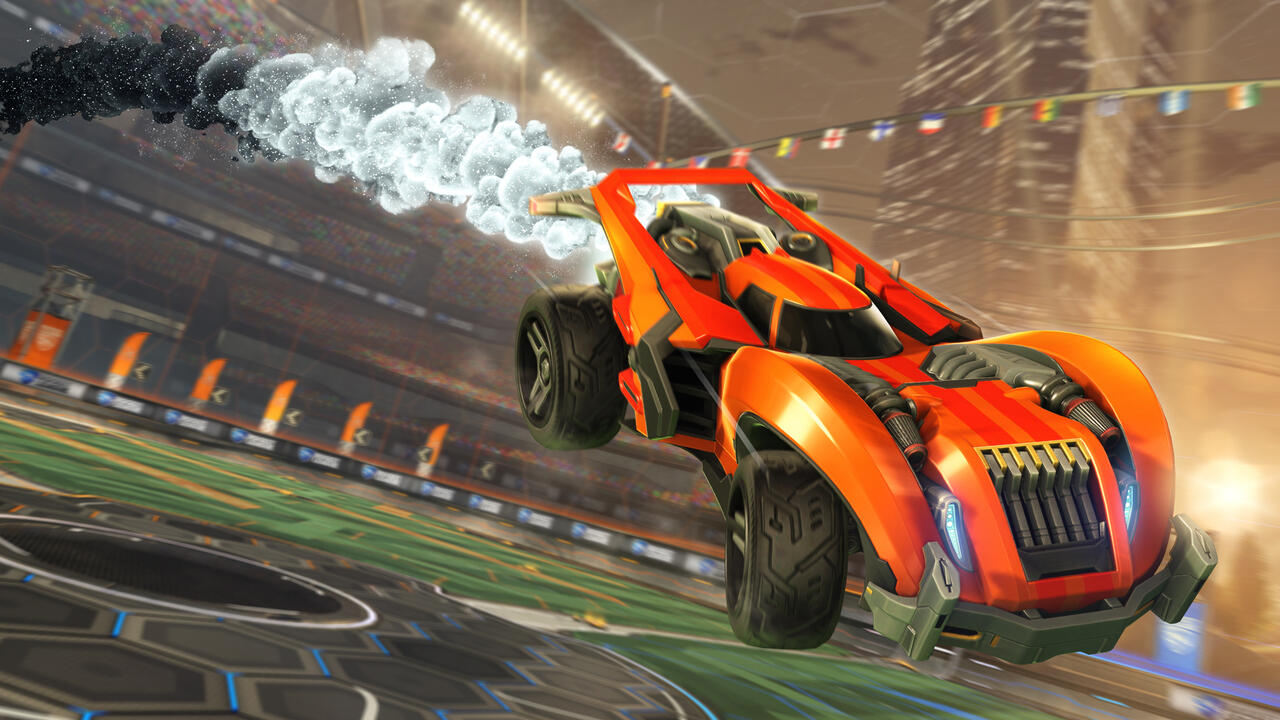 Rocket League F2P Faded Cosmos Boost - Rocket League Goes Free-to-Play on Epic Games Store Next Week
