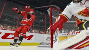 NHL 21 gameplay