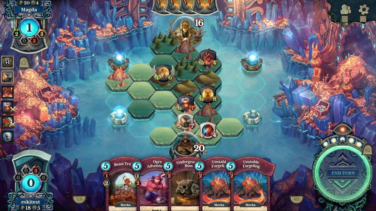 Faeria PS4 Launch