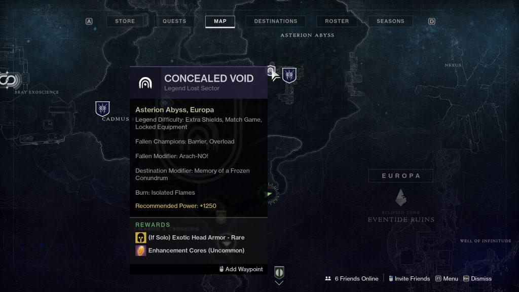 Legend and Master Lost Sector 1024x576 - Legend and Master Lost Sector Rotation - Destiny 2