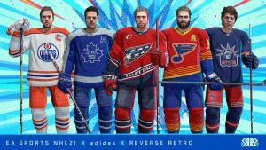 NHL 21 Reverse Retro Jerseys