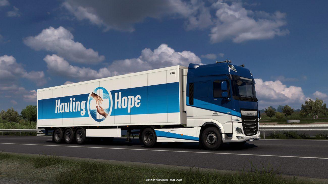 World of Trucks Hauling Hope Event