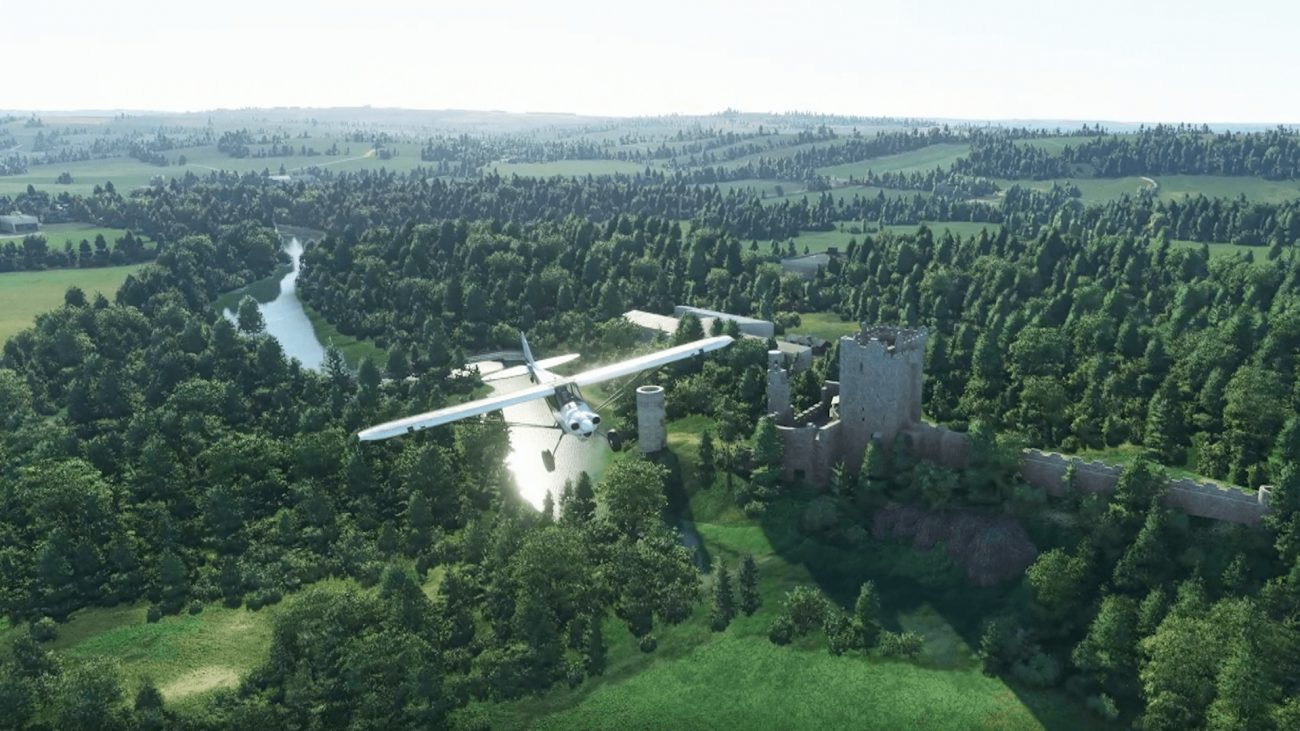 Flight Simulator Blarney Castle Ireland Update