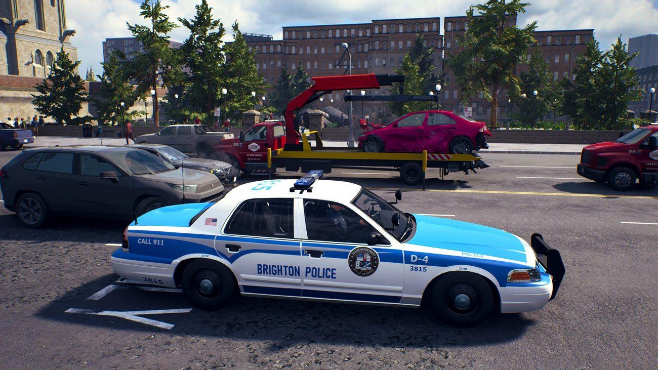 Police Simulator Patrol Officer Reveal