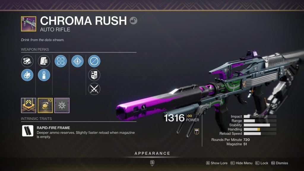 Chroma Rush 1024x576 - Chroma Rush God Roll – Destiny 2