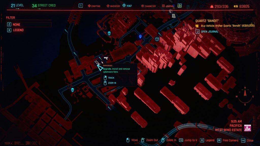 Optical Camo Rare Location 1024x576 - Optical Camo Location - Cyberpunk 2077