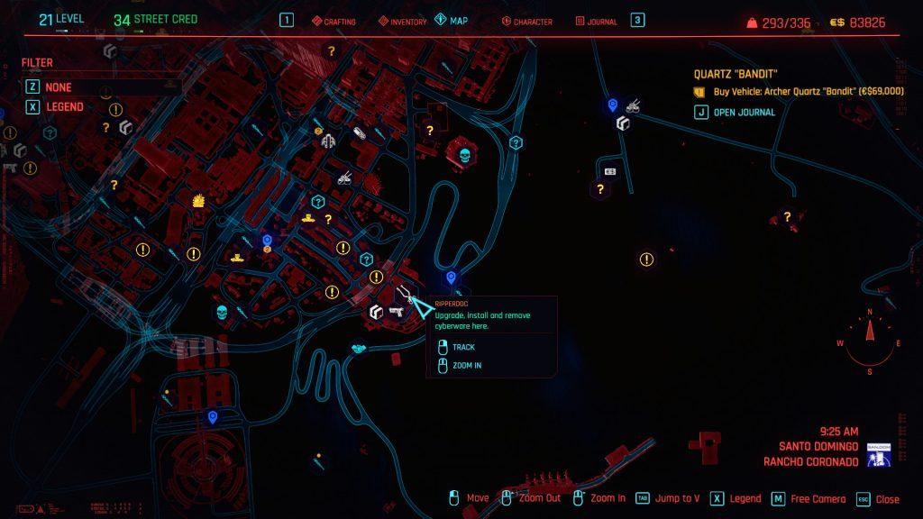 Optical Camo Legendary Location 1024x576 - Optical Camo Location - Cyberpunk 2077