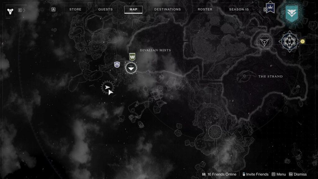 alcove map 1024x576 - Tracing the Stars - Destiny 2: Atlas Skew Locations - Week 1