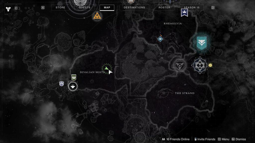 cave map 1024x576 - Tracing the Stars - Destiny 2: Atlas Skew Locations - Week 1
