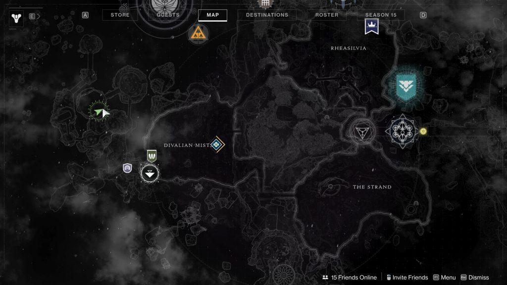 orrery map 1024x576 - Tracing the Stars - Destiny 2: Atlas Skew Locations - Week 1