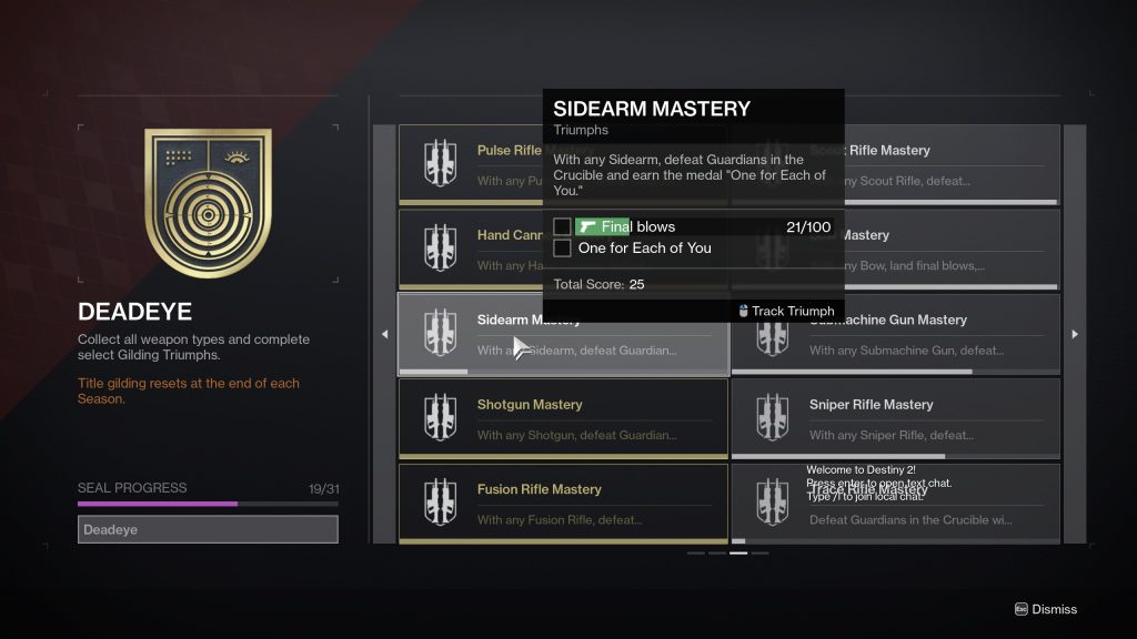One For Each of You 1024x576 - One For Each of You Medal – Destiny 2