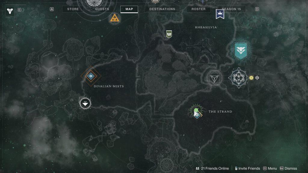 towering map 1024x576 - Tracing the Stars II - Destiny 2: Atlas Skew Locations - Week 2