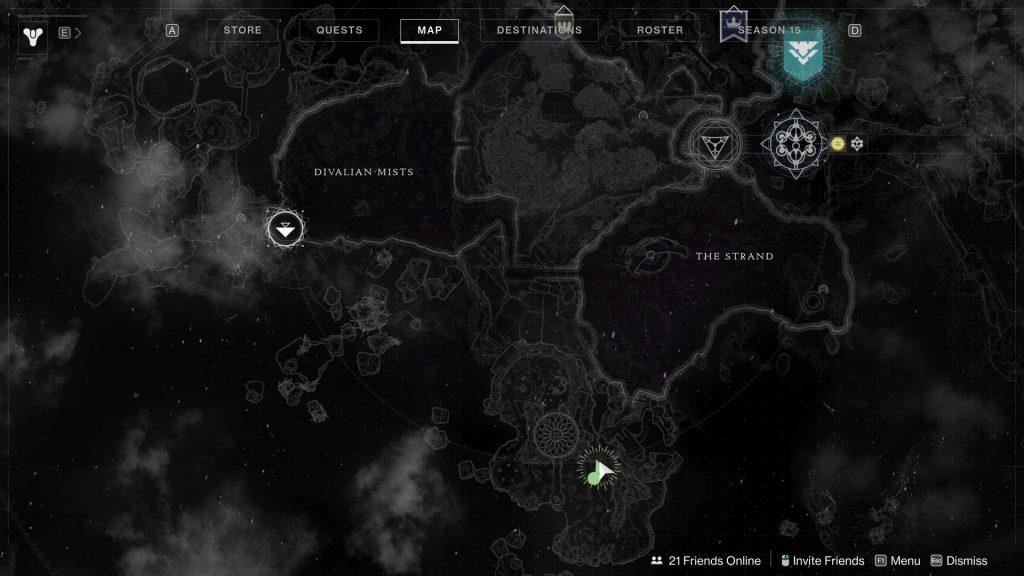 waterfall map 1024x576 - Tracing the Stars II - Destiny 2: Atlas Skew Locations - Week 2