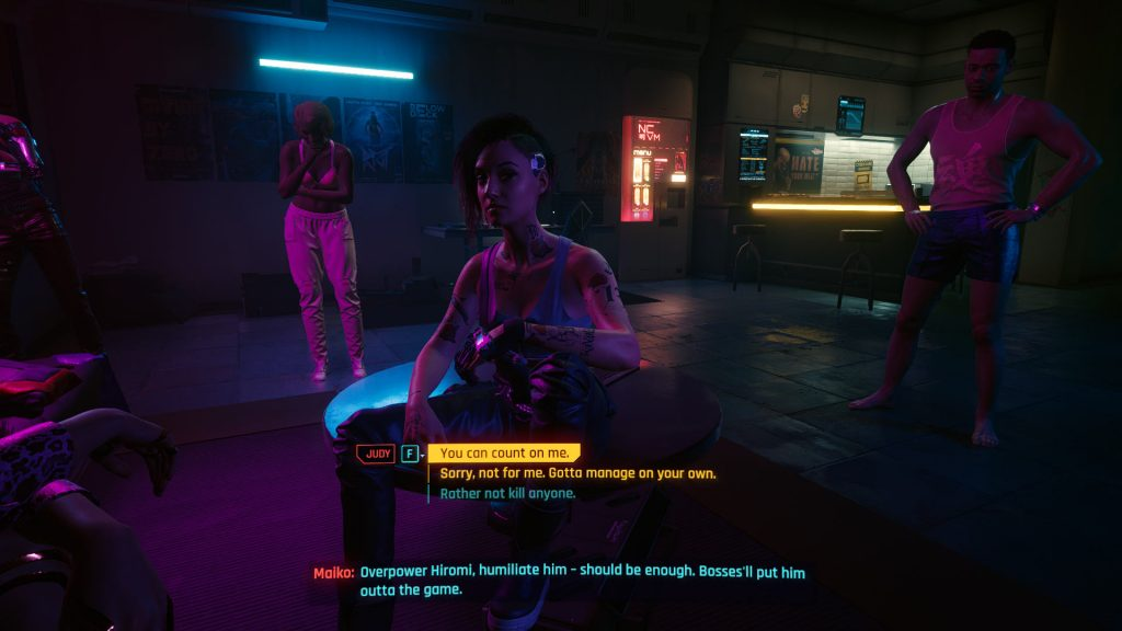 CP2077 Revolution 1024x576 - How to Romance Judy in Cyberpunk 2077