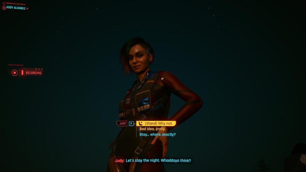 Judy invite 1024x576 - How to Romance Judy in Cyberpunk 2077