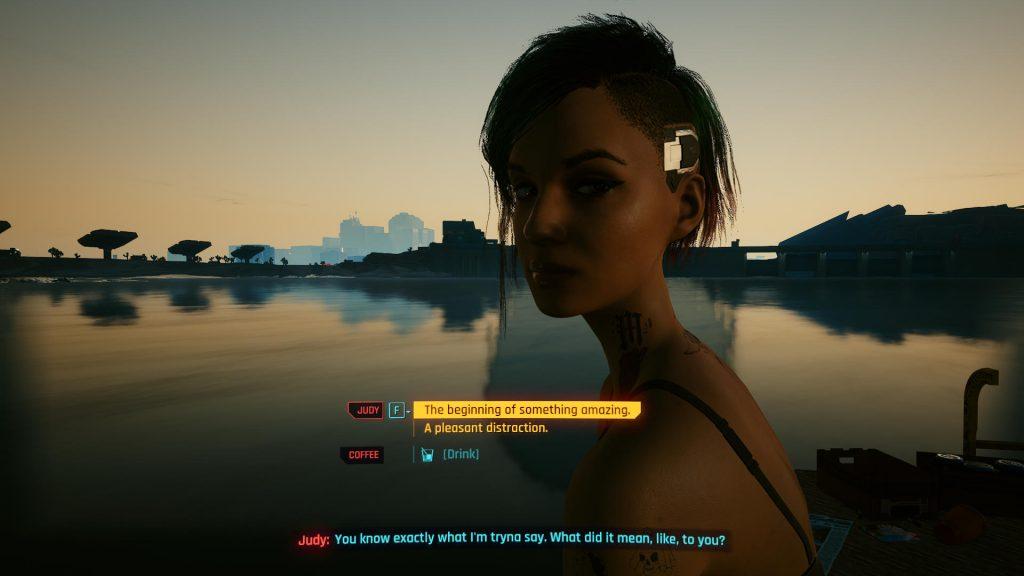 Judy amazing 1024x576 - How to Romance Judy in Cyberpunk 2077