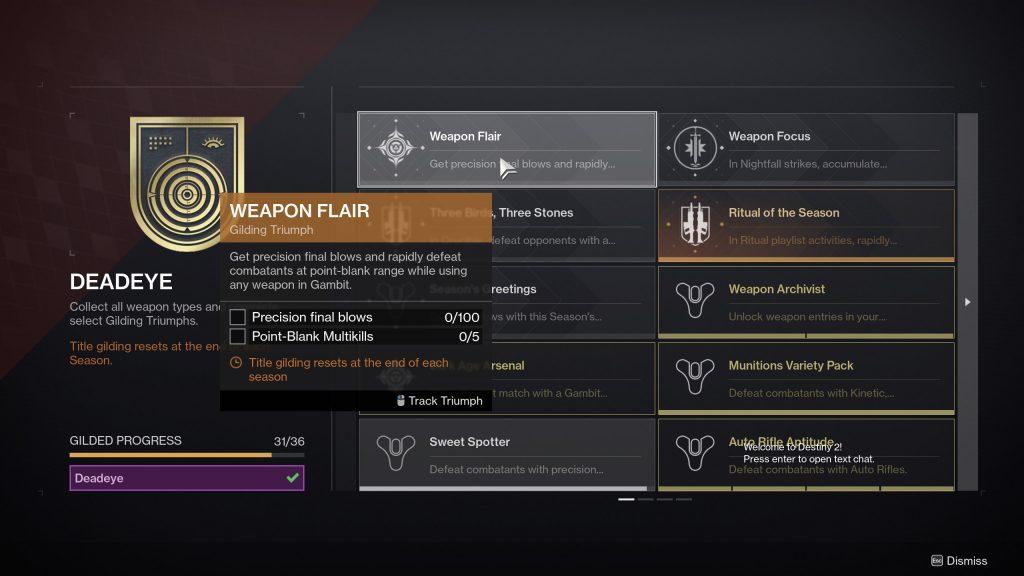 weapon flair triumph destiny 2 1024x576 - Sweet Spotter Triumph - Destiny 2