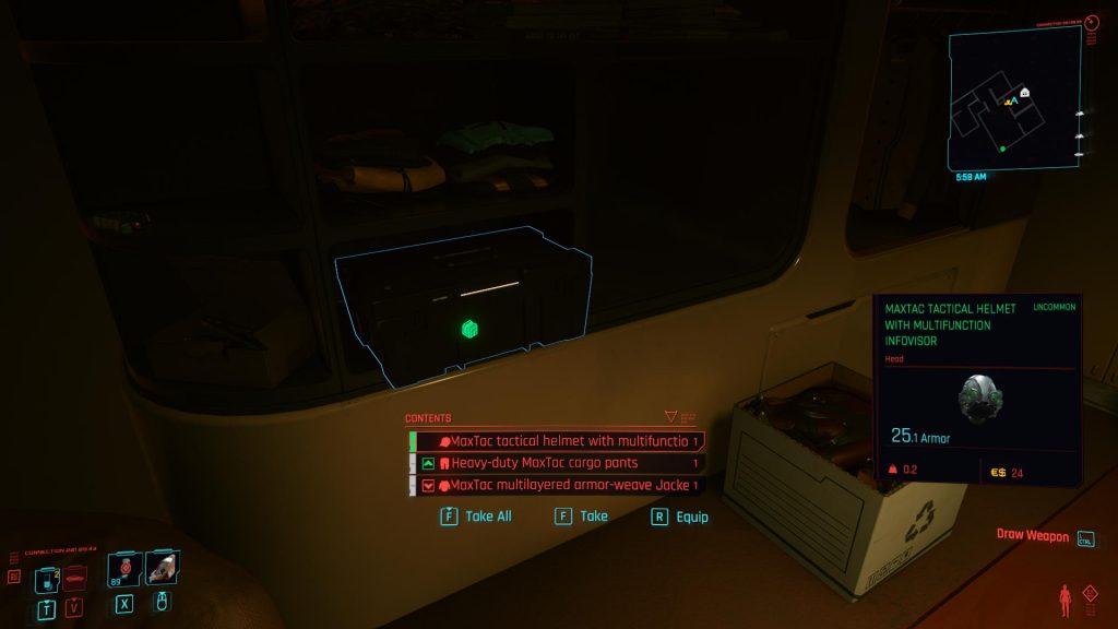 Judy MaxTac Box 1024x576 - How to Get Judy's MaxTac Uniform in Cyberpunk 2077