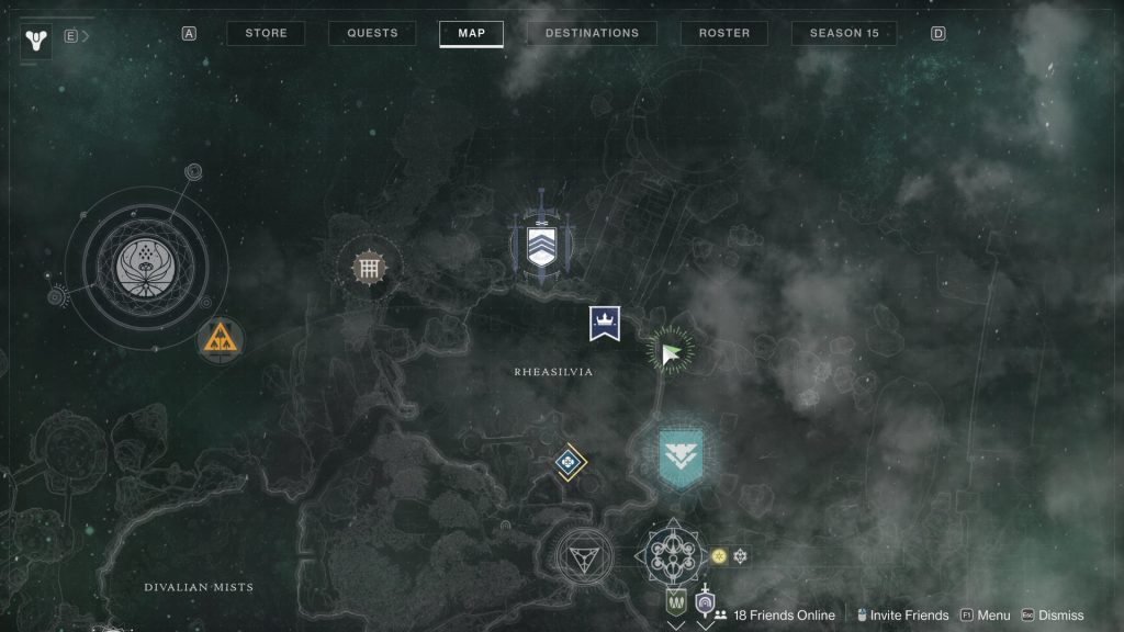 secluded map 1024x576 - Tracing the Stars III - Destiny 2: Atlas Skew Locations - Week 3
