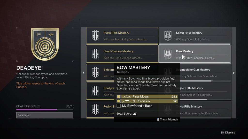 My Bowfriends Back 1024x576 - My Bowfriend's Back Medal – Destiny 2