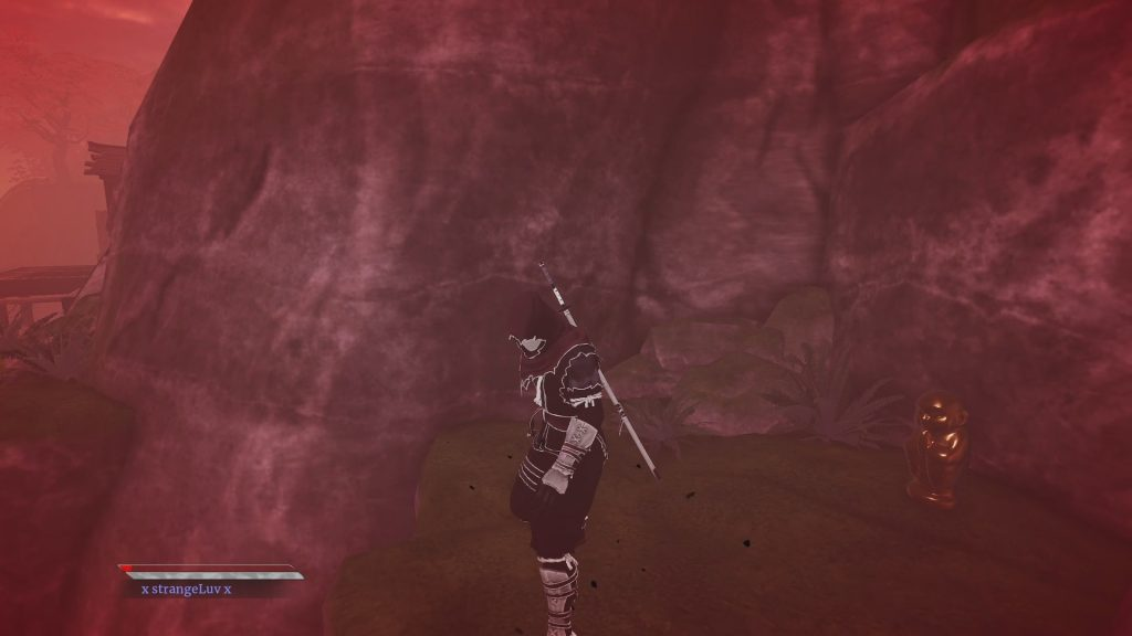 elders scroll gold statue 1 1024x576 - All Collectibles in Lone Mountain - Aragami 2